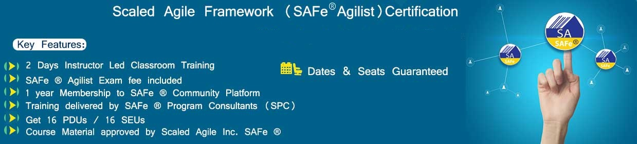 Safe Agilist Sa Certification Training And Certification Agile
